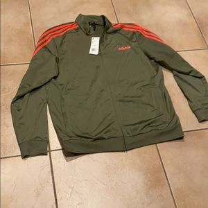 Brand new with tags men's Adidas track jacket
